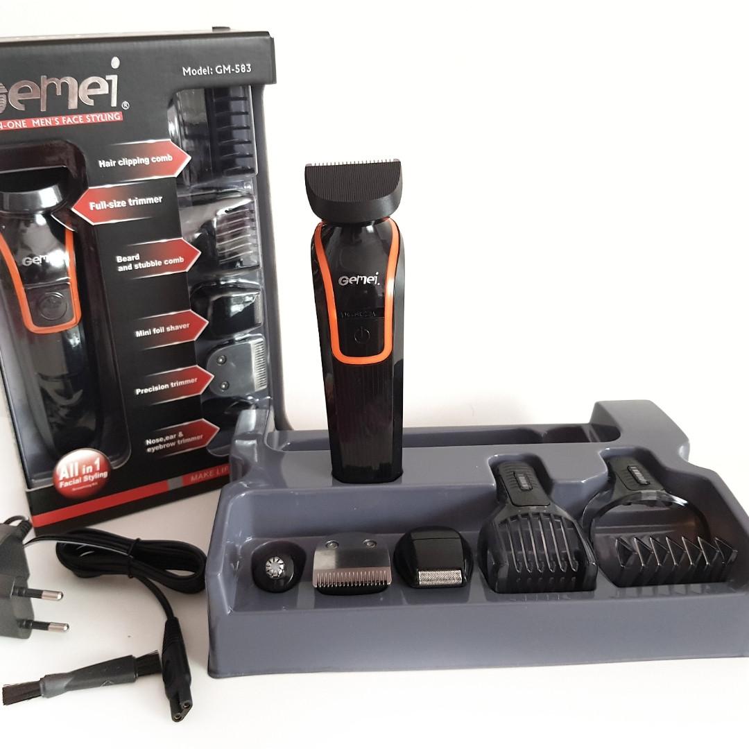 Набор для стрижки волос и бороды Gemei GM-583
