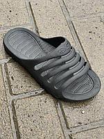Тапочки пена мужские черные оптом Даго, фото 1