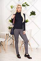 Модные женские лосины-брюки в клетку, фото 1