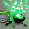 Диско шар беспроводной аккумуляторный с Bluetooth с пультом ДУ 7 color DMX 512, фото 7