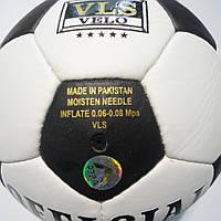 Футбольный мяч для футбола Grippy Official, черно-белый, р. 5, не ламинированный, фото 1