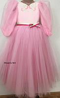 Нарядное платье детское (модель №3), 105/75 см