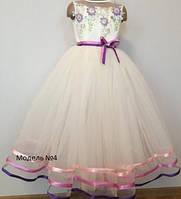 Нарядное платье детское (модель №4), 105/75 см