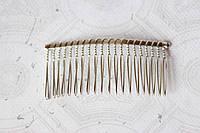 Гребешок для волос металлический 7,5 см