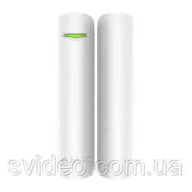 DoorProtect Plus white Беспроводной датчик открытия с сенсором удара и наклона
