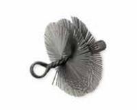 Торцевая щётка-ёршик для очистки отверстия OSBORN торцевая D-150 мм, М12*175мм, плоская стальная проволока