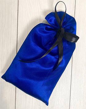 Мешочек для подарков из атласа с черным бантиком, аксессуары для нижнего белья