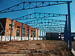 Металоконструкція 24х24х5 Ангар Двускат Склад Навіс Каркас, фото 7