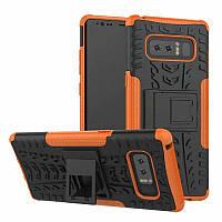 Чехол для Samsung Galaxy Note 8 / N950 6.3'' противоударный бампер оранжевый