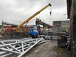 Ангар 12х30х5 каркас, склад під готову продукцію, літаки, для тварин. Прямостінний., фото 4
