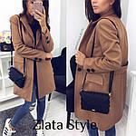 Стильное женское пальто из кашемира, фото 10