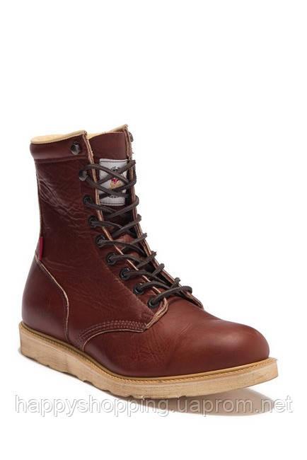 Мужские кожаные  коричневые ботинки The Gorilla Shoe
