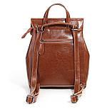 Рюкзак сумка (трансформер) женский городской кожаный  (черный), фото 8