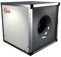 Канальный вентилятор SALDA KUB 500-4 L3