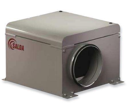 Канальный вентилятор SALDA AKU 160 M