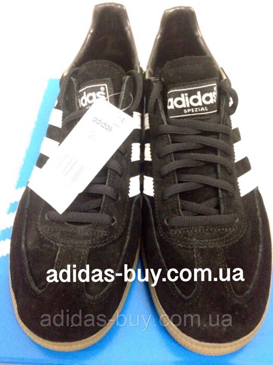 Кроссовки мужские оригинальные  adidas Originals Spezial 551483 цвет: чёрный
