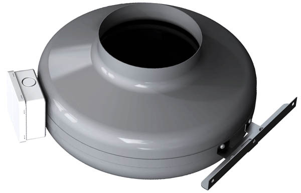 Канальный вентилятор SALDA VKA 100 LD+кронштейн