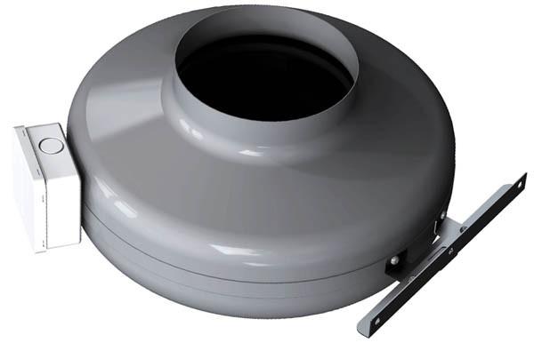 Канальный вентилятор SALDA VKA 200 MD+кронштейн