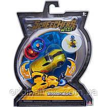 Машинка трансформер Спаркбаг Дикие Скричеры Screechers Wild Sparkbug Level 1