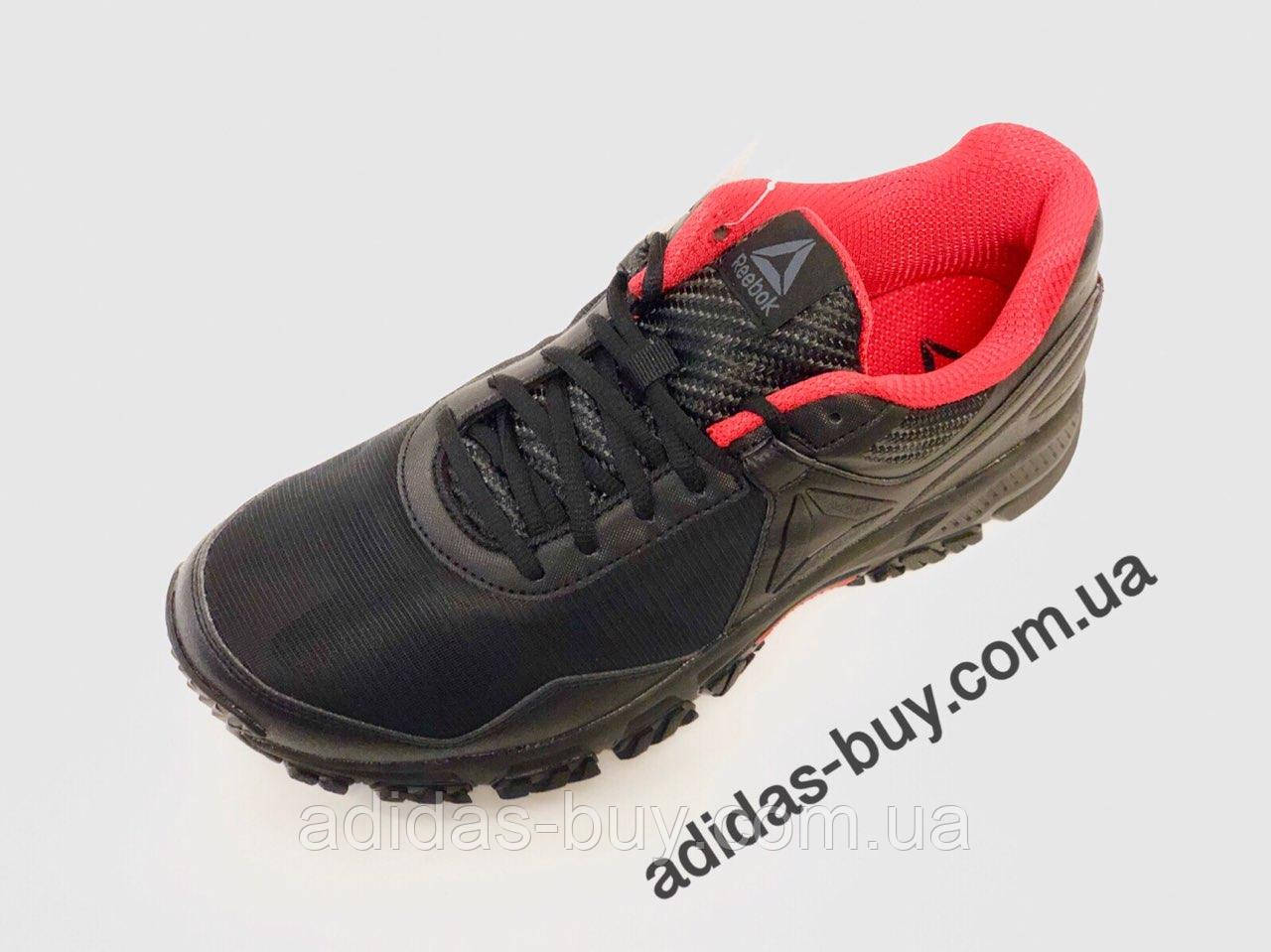 Кроссовки мужские оригинальные Reebok Ridgerider Trail 3.0 цвет чёрный артикул CN3485