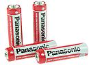 Батарейки опт набор Panasonic Red Zinc AA BLI 4 Zinc-Carbon, фото 2