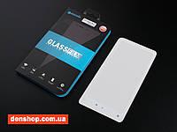 Защитное стекло Mocolo для Xiaomi Mi Mix 2/2s Full Glue - полный клей (White) - (Акция! Скидка 50% на второе стекло!)