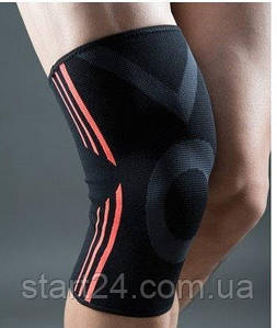 Эластический наколенник Power System Knee Support Evo PS-6021 Black/Orange XL