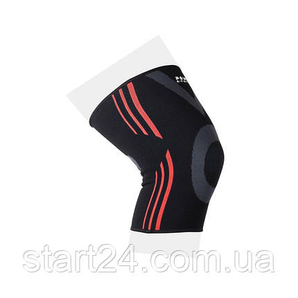 Эластический наколенник Power System Knee Support Evo PS-6021 Black/Orange XL, фото 2