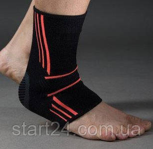 Эластический Голеностоп Power System Ankle Support Evo PS-6022 Black/Orange M