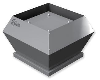 Крышный вентилятор SALDA VSV 250-2 L1