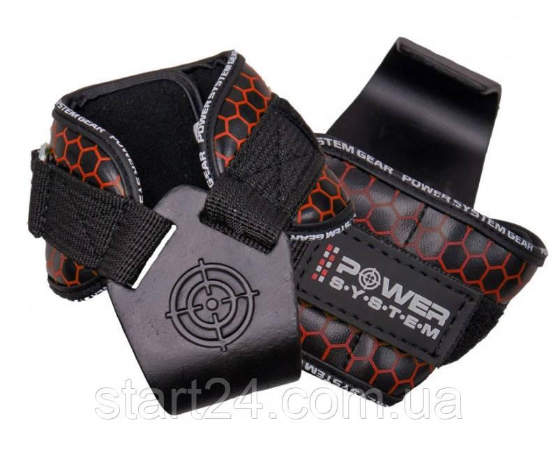 Крюки для тяги на запястья Power System Hooks V2 PS-3360 Black-Red