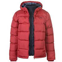 Куртка Lee Cooper 2 Zip Bubble Jacket Mens XL