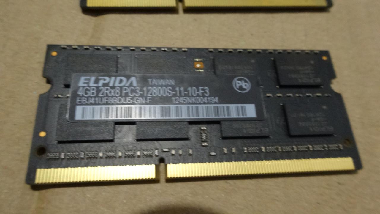 Память для ноутбука SODIMM DDR3 8Gb(2*4GB) 1600(12800) ELPIDA