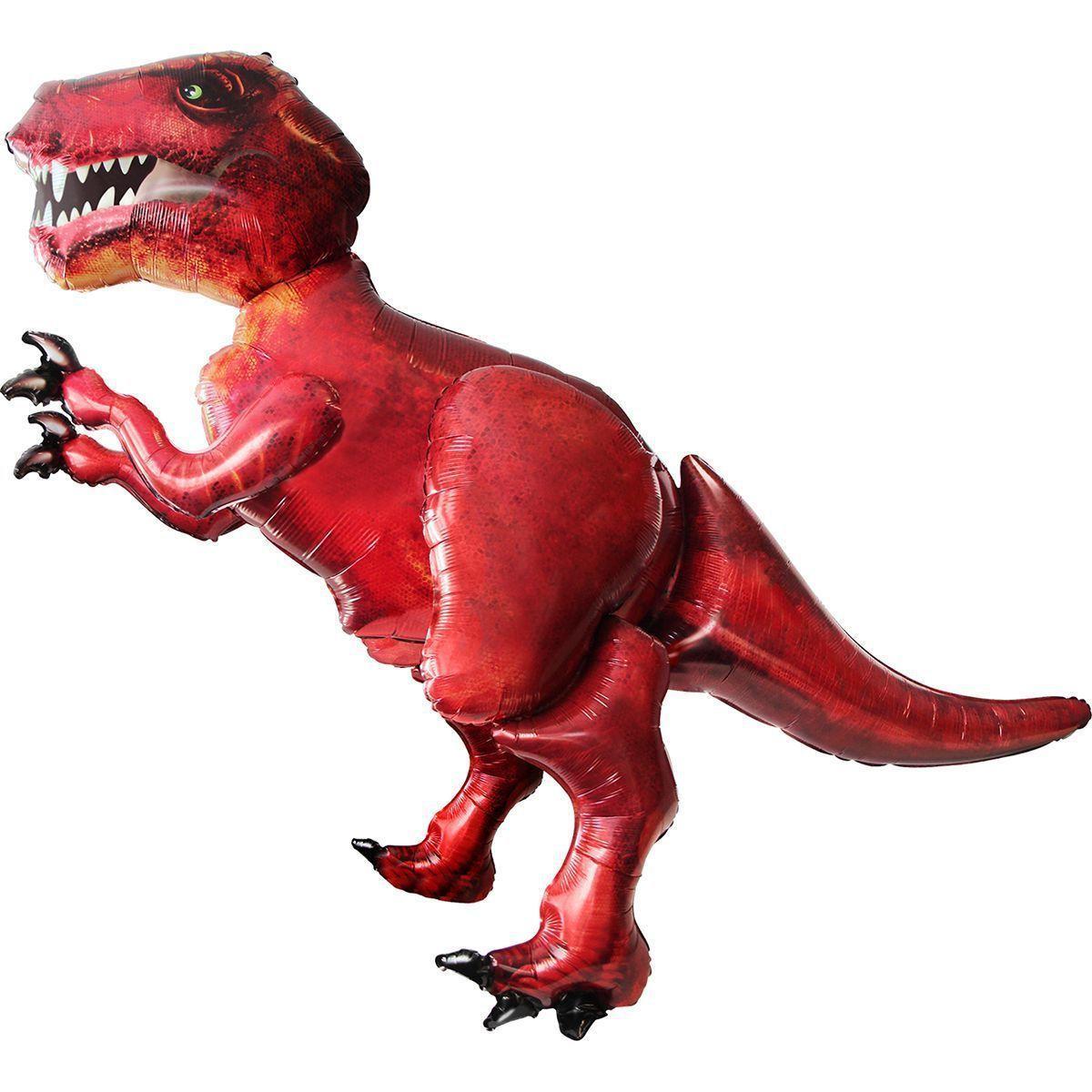 Ходяча фігура Динозавр червоний (Анаграм)