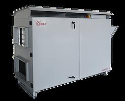 Приточная установка SALDA RIS 2500 HW EC (с заслонками SSK с приводами)