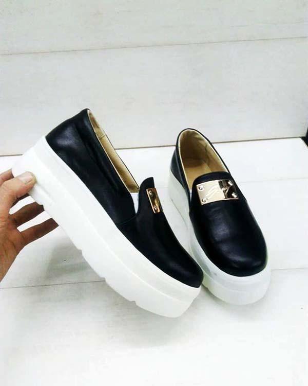 47f87aae4 Слипоны женские кожаные чёрные 0013АЛМ, цена 1 037,50 грн., купить в ...