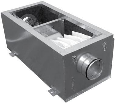 Приточная установка SALDA VEKA 1000/5,0 L1