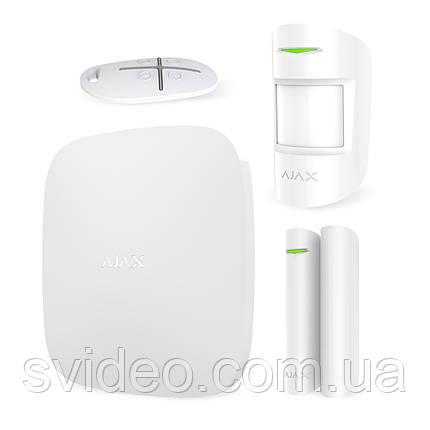 Ajax StarterKit белый - комплект беспроводной сигнализации, фото 2