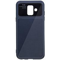 TPU чехол Glossy Half для Samsung Galaxy A6 (2018), фото 1