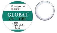 """Конструирующий гель """"Global""""  14g ярко-белый"""