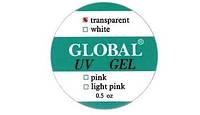 """Конструирующий гель """"Global""""  14g  прозрачный"""