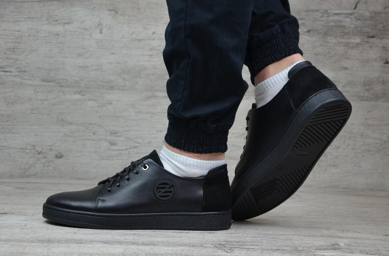 Туфли мужские кожаные Zangak. ТОП КАЧЕСТВО!!!  Реплика, фото 1