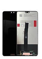 Дисплей для Huawei P20 (EML-L29) + touchscreen, черный Высокое качество