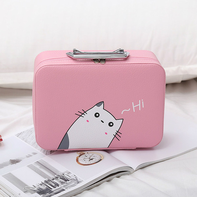 розовый кейс с котиком
