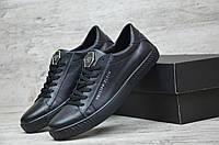 Туфли мужские кожаные Philipp Plein. ТОП КАЧЕСТВО!!!  Реплика, фото 1