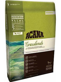 Сухой корм ACANA GRASSLANDS CAT для кошек и котят с ягненком, 1,8 кг