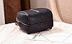Рюкзак женский кожам Sminica с помпоном Коричневый, фото 6