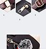 Рюкзак женский кожам Sminica с помпоном Коричневый, фото 8