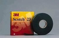 Сырая самовулканизирующаяся резина Scotch 23 этилено-пропиленовая, (19mm x 9.15 m х 0,76 mm)