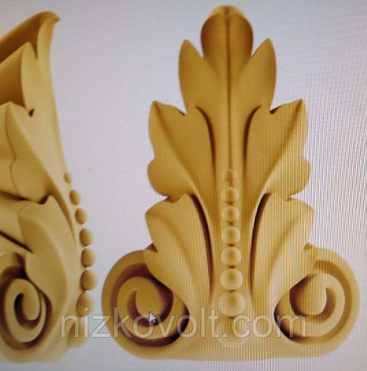 Резной декор для мебели 043 - резьба по дереву